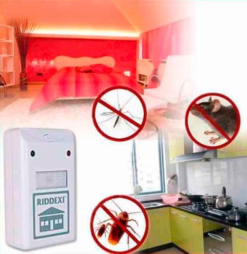 2 x repelente espanta insectos y roedores  l. metro tobalaba