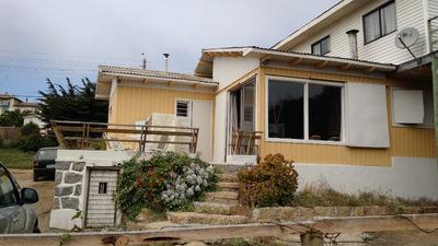 Arriendo Casa Con Vista Al Mar El Quisco Centro Costanera