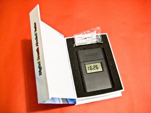 alcotest (alcoholímetro) digital, fn. reloj - interorbe