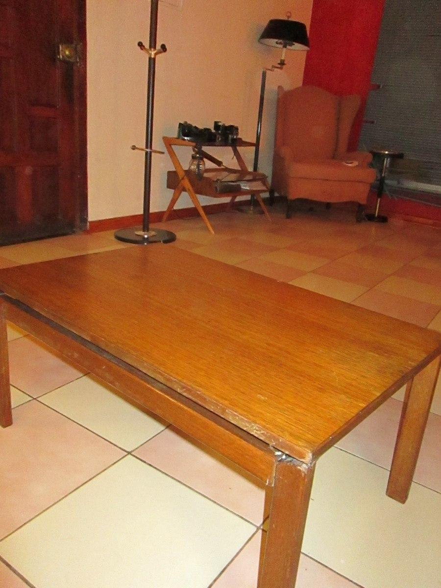 Antigua y bonita mesa de centro de eucalipto muy - Mesas de centro antiguas ...