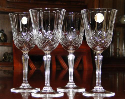 Antiguas copas de cristal d 39 arques franc s for Copas de cristal