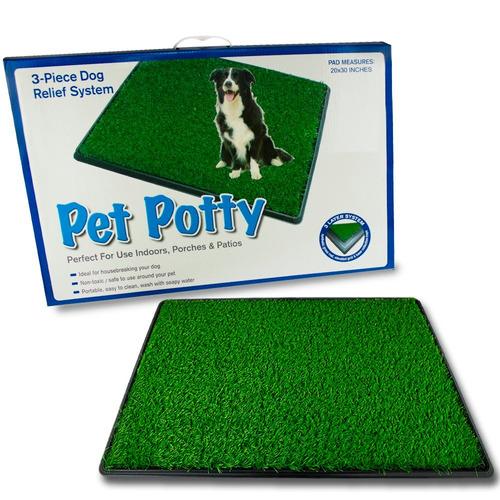 baño ecológico xxl para perros y gatos pet potty