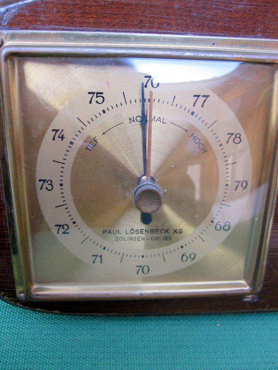 Barometro aleman sundo solingen estacion meteorologica - Estacion meteorologica precio ...