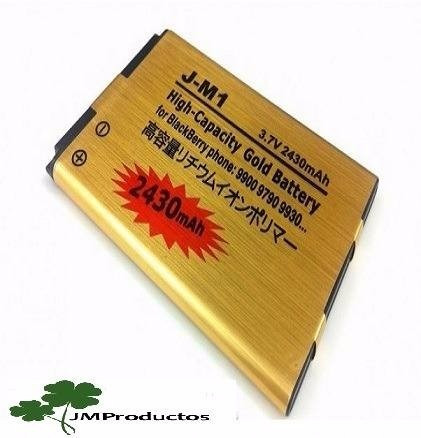 bateria blackberry 9850 9860 9900 9930 9790, jm1, 2.430 mah