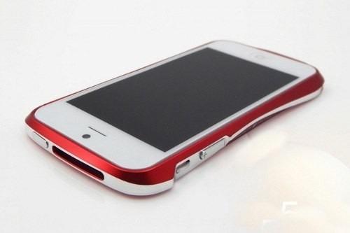 carcasa bumper aluminio iphone 5 - 5s