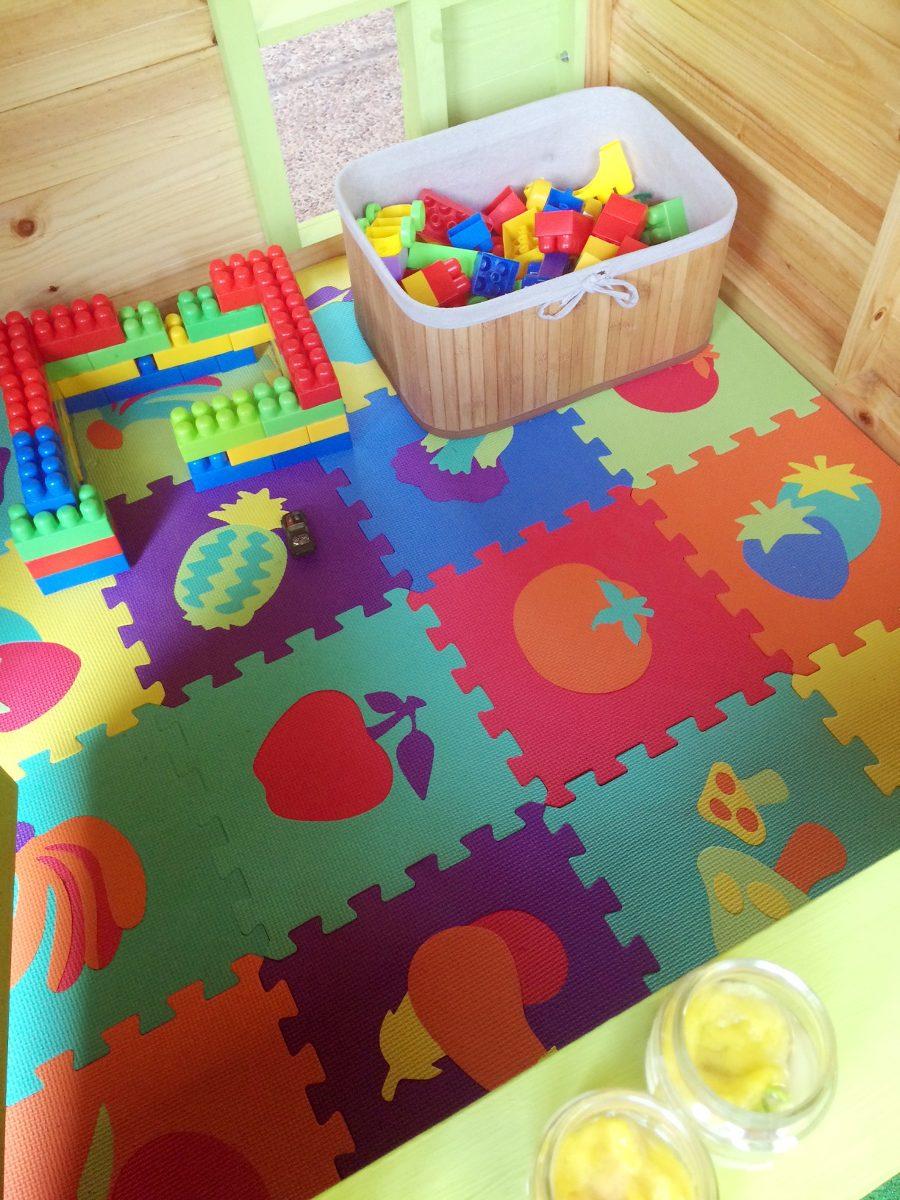 Casita infantil de madera casa de mu ecas de madera - Casa madera infantil ...