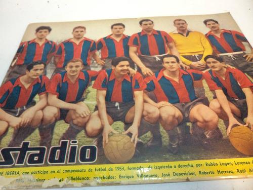 deportes iberia. revista estadio 1953 1957 (2)