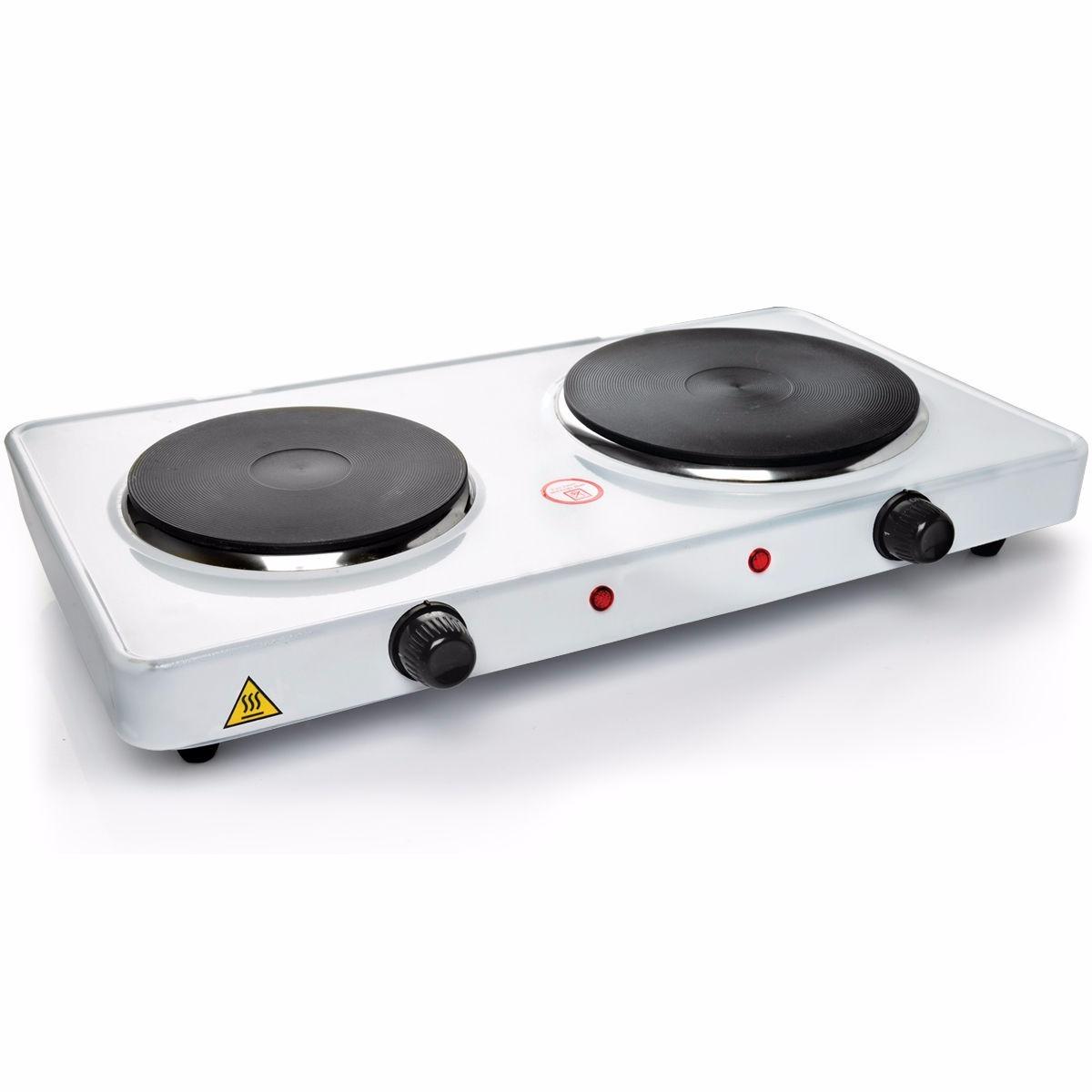 cocina encimera 2 plato electrica 2000w portatil