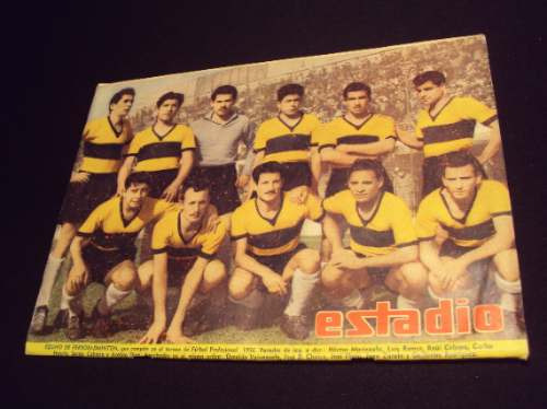 ferrobadminton, 1956 ? 1958, revista estadio (2)