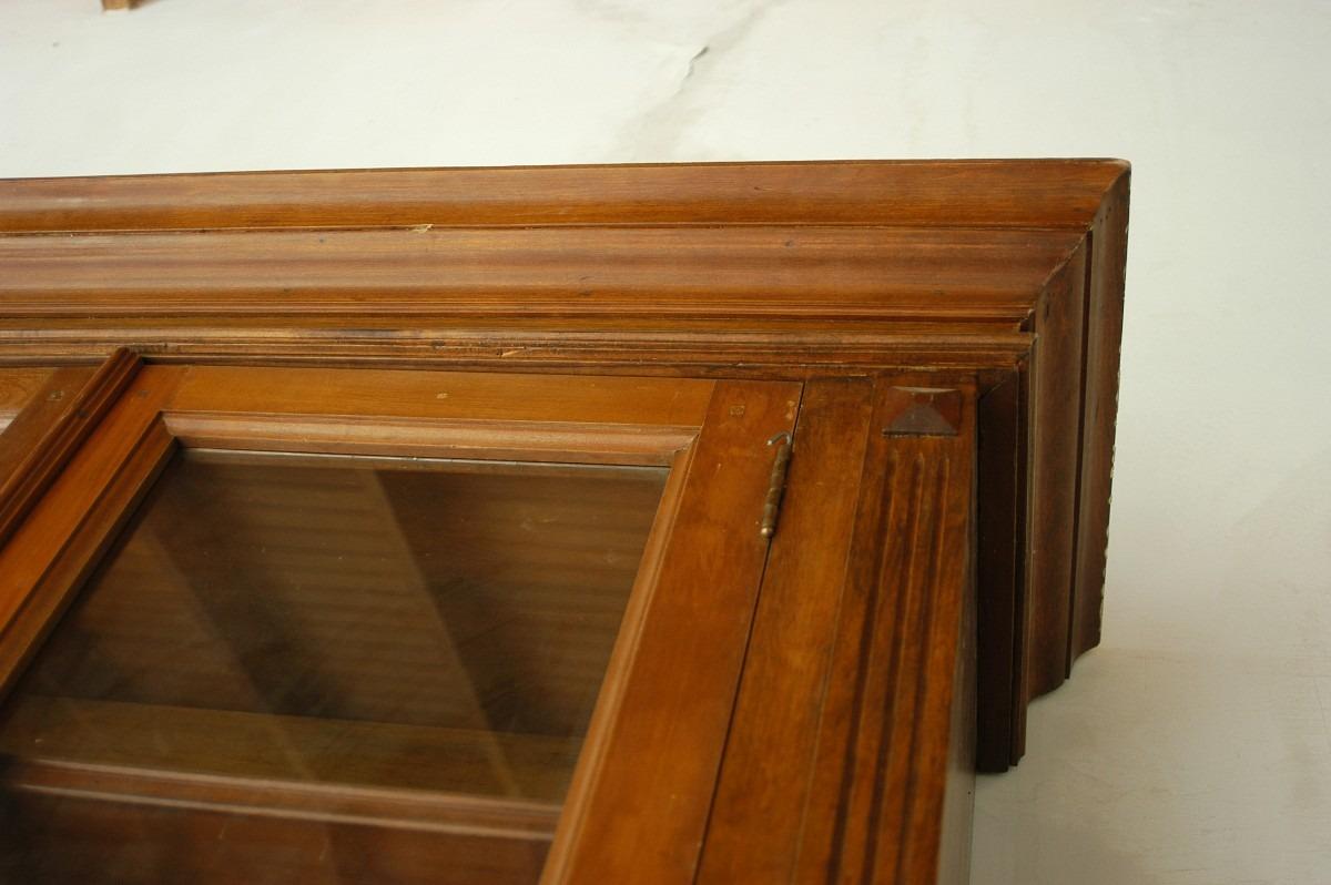 Gran Mueble Biblioteca Antiguo Nogal Camara Diputados  $ 8900000