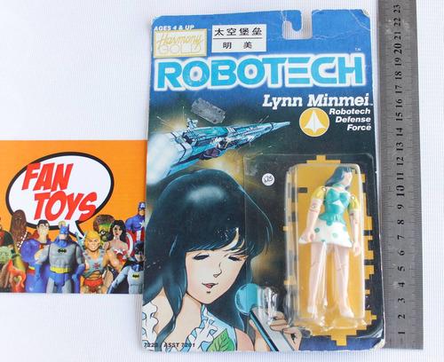 linn minmei robotech harmony gold