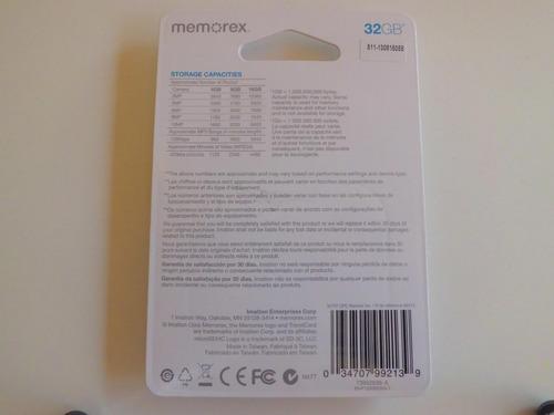 memoria micro sd 8gb memorex originales con despacho