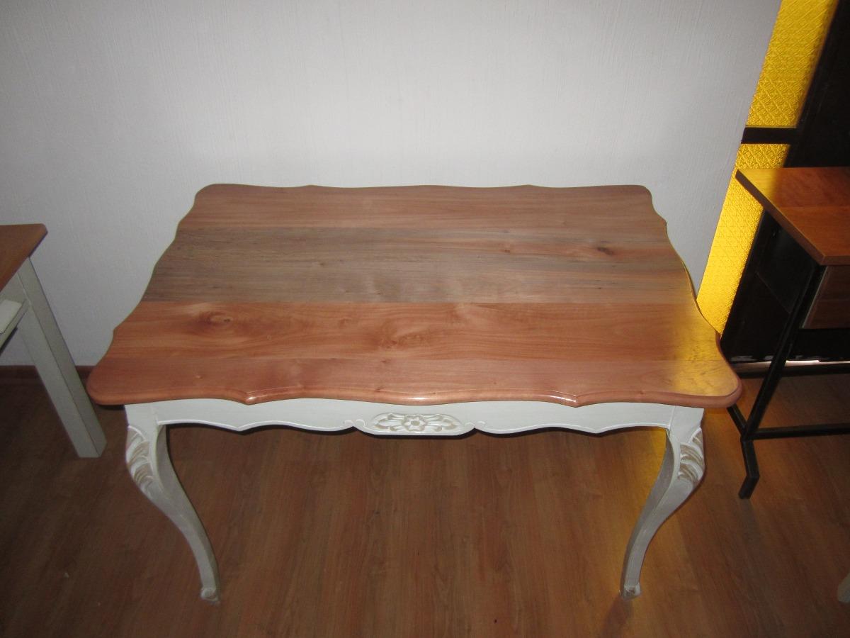 mesa comedor normando cubierta madera en