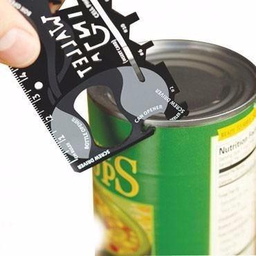 multiherramientas de acero para billetera wallet ninja