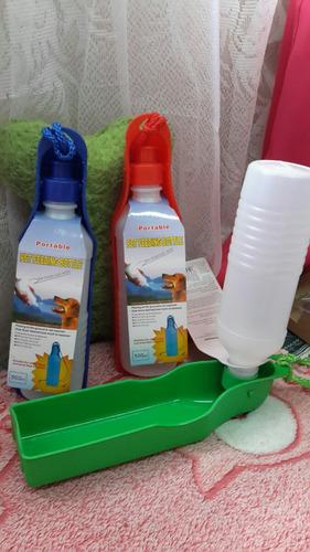 pack  de paseo ( botella + dispensador + 3 rollos de bolsas)