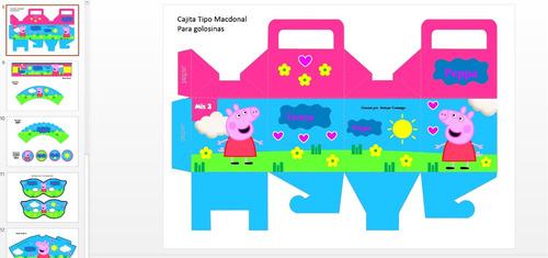 peppa pig kit imprimible