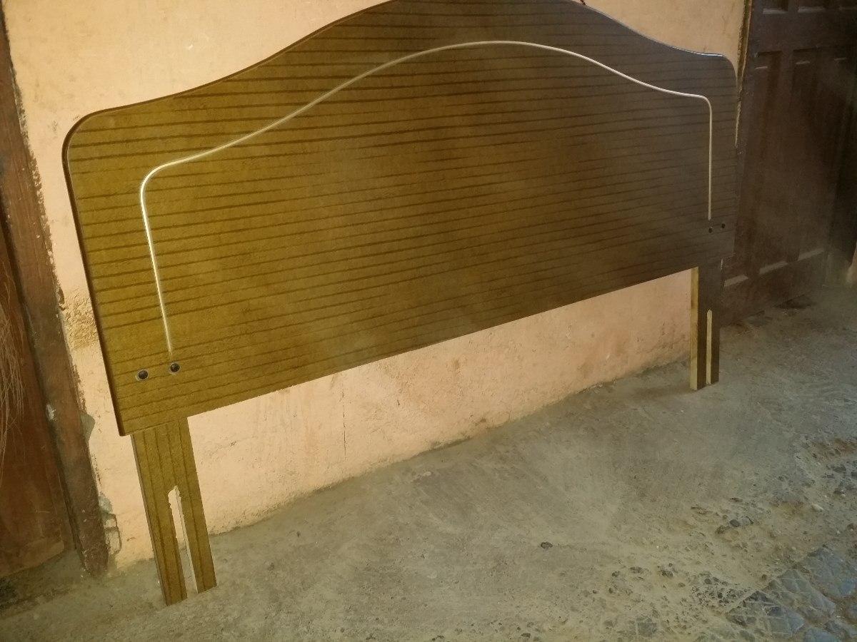 Respaldo de cama de dos plazas en mercado libre for Cama 6 plazas
