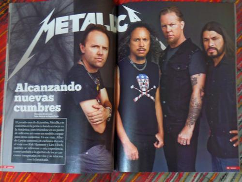 revista rockaxis nº130 especial guitarristas chilenos