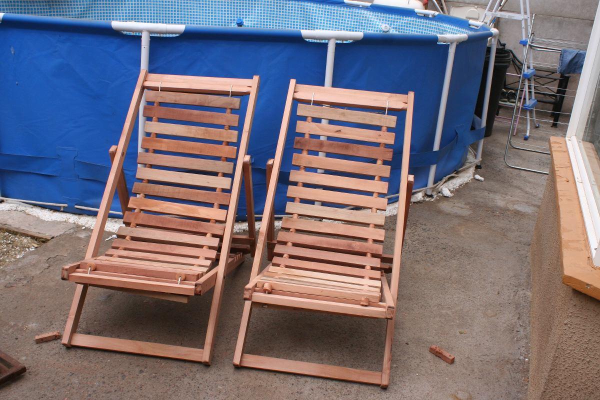 Sillas de playa 100 madera nativa en mercado libre - Sillas de madera precios ...