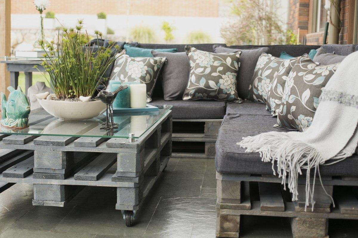 Cojines Para Sillones De Terraza Awesome Confeccin De Cojines De  # Cojines Muebles Terraza